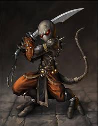 Imp Warrior by Snugglestab