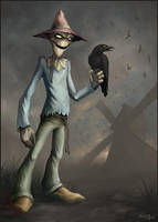 Scarecrow by Snugglestab