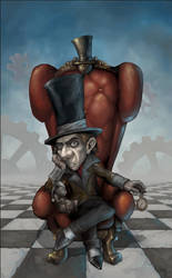 The Mad Hatter by Snugglestab