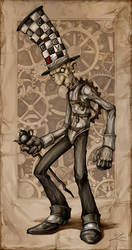 American McGee's Mad Hatter by Snugglestab