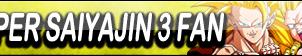 Super Saiyajin 3 Fan Button by gonzalossj3