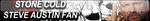 Stone Cold Steve Austin Fan Button by gonzalossj3
