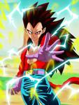 Vegeta Super Saiyajin 4 by gonzalossj3