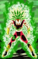 Kefla Legendary Super Saiyajin Rage by gonzalossj3