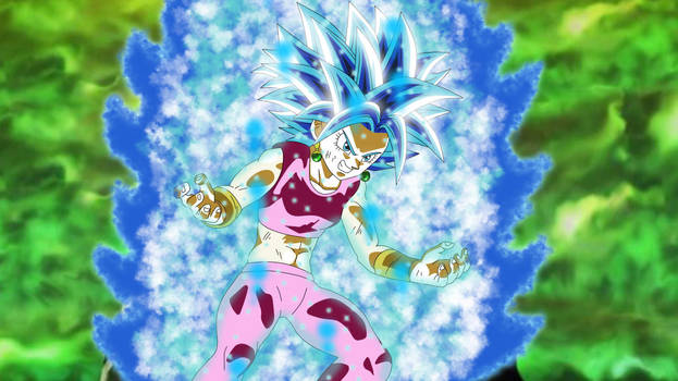 Kefla Super Saiyajin God SS Evolution by gonzalossj3