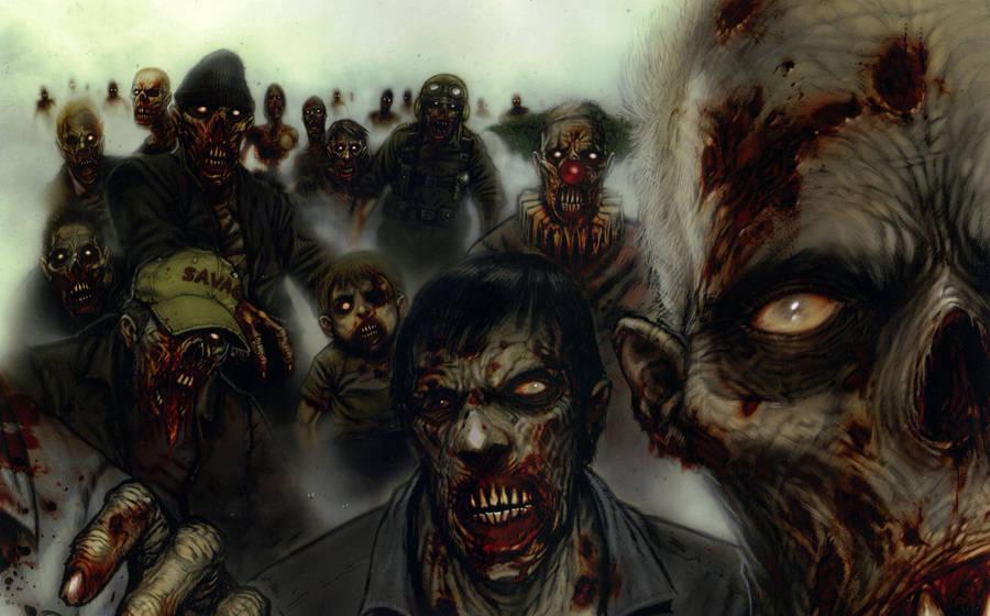Zombie Army by Vermyn-N