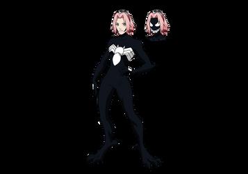Venom Sakura 2 by Crossovercomic