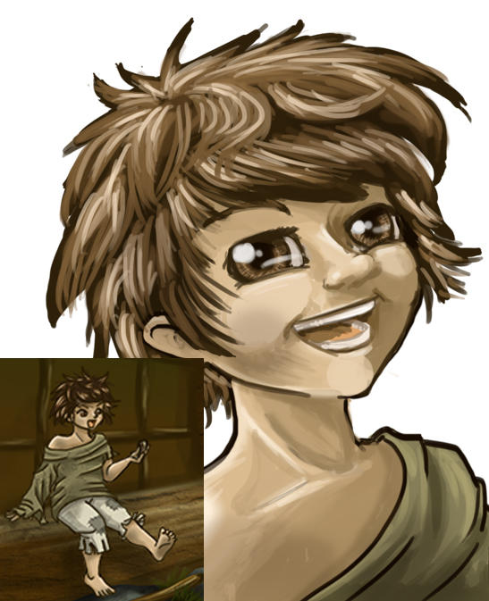 Barkeep's son by axemsir