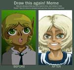 Draw this again Meme, Pan by axemsir