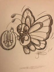 Pokmon cafe # 12 Butterfree by axemsir