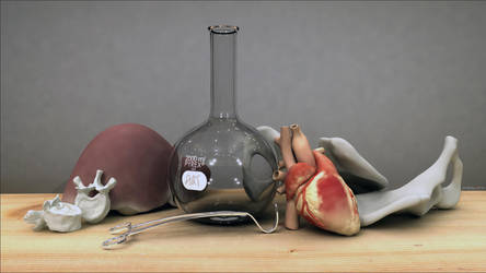 3D still life by thelastmiracle