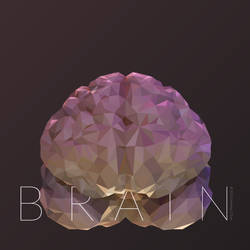 Low-Poly Brain by thelastmiracle