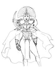 Warrior Priestess by LorenzoLivrieri