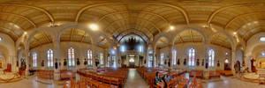 San Antonio cathedral interior by patrick-brian