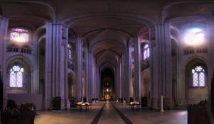 St. John the Divine Interior by patrick-brian