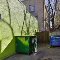 Green Dumpster by patrick-brian