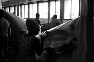 Watching the Beer Ferment by patrick-brian