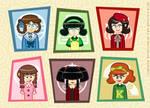 Leading Ladies of an AirHeaded Musical by MU-Cheer-Girl
