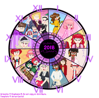 2018 Summary of Art by MU-Cheer-Girl