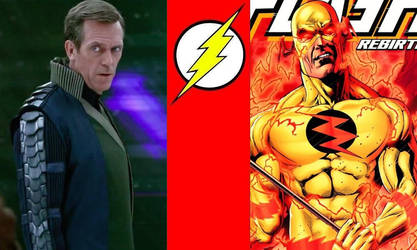 DCEU - Reverse Flash: Hugh Laurie by AllStarDoomsday1992