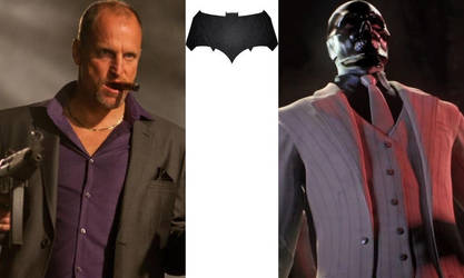 DCEU - Black Mask: Woody Harrelson by AllStarDoomsday1992