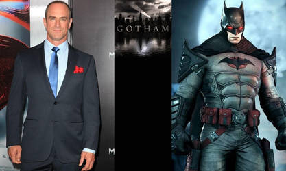 Gotham T.V. Series - Batman: Christopher Meloni by AllStarDoomsday1992