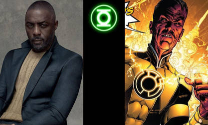 DCEU - Thaal Sinestro: Idris Elba by AllStarDoomsday1992