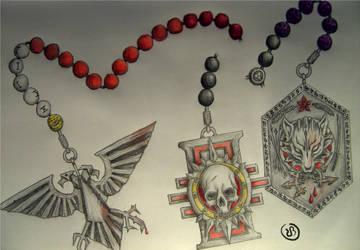 Dark Heresy - Moritat Rosary by FantasyAndSFFan