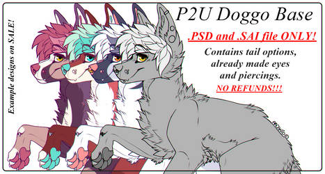P2U Doggo Base *NEW* by arcanid