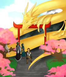 Dragon Essence - Meeting by mieruli