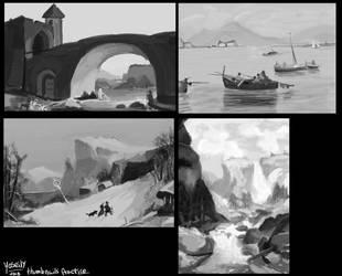 Lanscape Thumbnails -studio. by YOSEILY