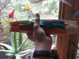 origami modular flexiball (60 sheets) (pic3) by aarrnnoo0123