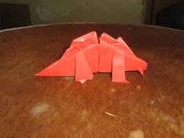 origami stegosaurus by Fernando Gilgado Gomez by aarrnnoo0123