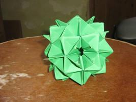Origami modular spike ball by aarrnnoo0123