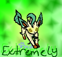 Marriland's Extremely, the Leafeon by ShinyMisty