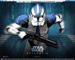 Star Wars Desktop by mcdave