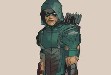 Green Arrow by AlejandroFoyn