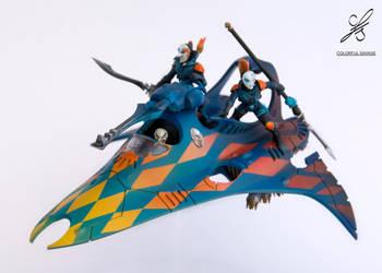 Eldar Harlequins Starweaver by Colorfulsavage