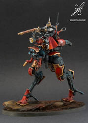 2nd Adeptus Mechanicus Sydonian Dragoon by Colorfulsavage