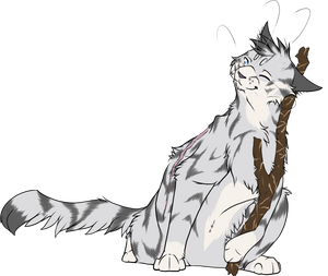 Warrior Cats #014 - Jayfeather by Kuroi-Hitsuji