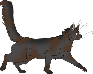 Warrior Cats #018 - Stormfur by Kuroi-Hitsuji