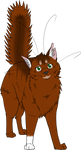 Warrior Cats #020 - Squirrelflight by Kuroi-Hitsuji