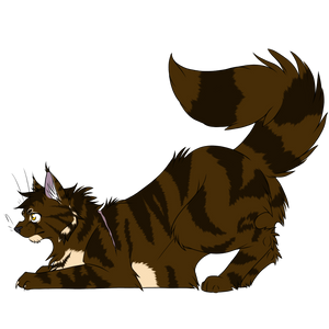 Warrior Cats #021 - Brambleclaw by Kuroi-Hitsuji