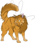 Warrior Cats #024 - Lionblaze by Kuroi-Hitsuji