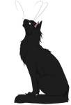 Warrior Cats #026 - Hollyleaf by Kuroi-Hitsuji