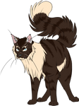 Warrior Cats #028 - Hawkfrost by Kuroi-Hitsuji