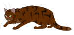 Warrior Cats #042 - Sharpclaw by Kuroi-Hitsuji