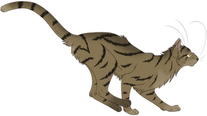 Warrior Cats #045 - Runningwind by Kuroi-Hitsuji