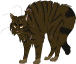 Warrior Cats #047 - Brokenstar by Kuroi-Hitsuji