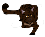 Warrior Cats #048 - Dustpelt by Kuroi-Hitsuji